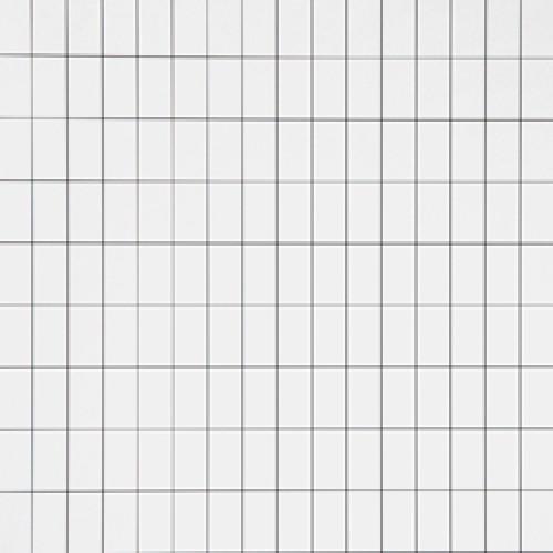 Ferm Living-stijlvol deens behangpapier-grid wit zwart-6406