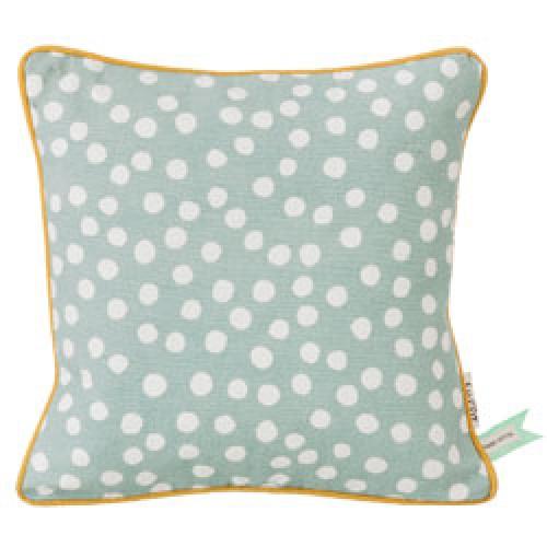 Ferm Living-speels kussen dots dusty blue-dusty blue-6435