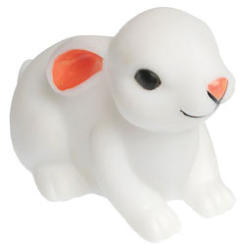 Rex-schattig nachtlampje baby konijntje-baby konijntje wit-6484
