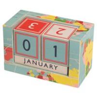 vintage wereldkaart kalender