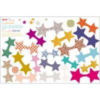 DIY sticker slingerkit sterren