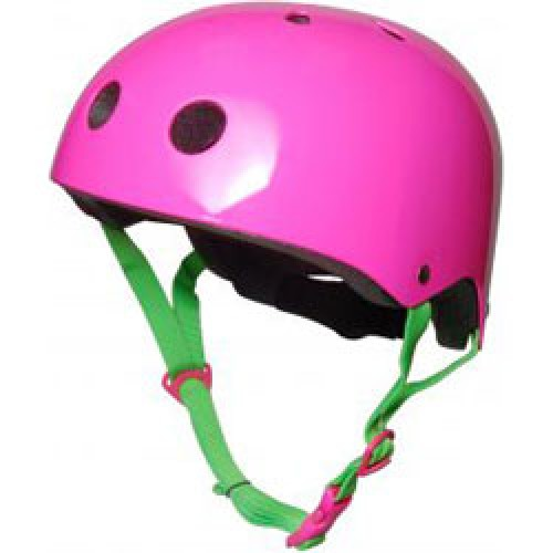 KiddiMoto-hippe fietshelm neon roze MEDIUM-neon roze MEDIUM-6637