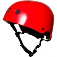 hippe fietshelm rood MEDIUM
