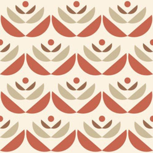 Lavmi-stijlvol behangpapier-cookies rood-6727