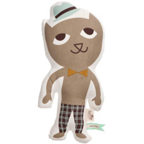 Ferm Living-mr cat kussen-mr cat-7018