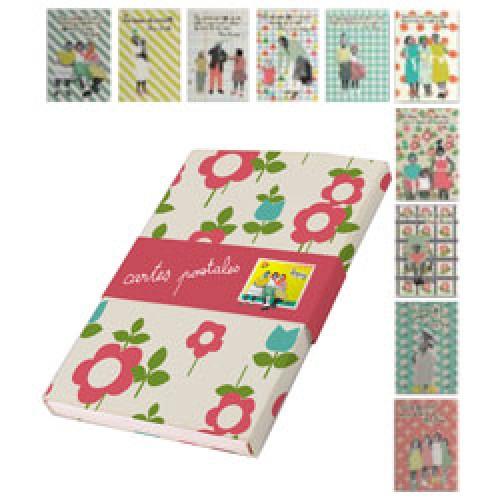 Zoé de las Cases-set van 20 postkaarten zoé-zoe2-7028