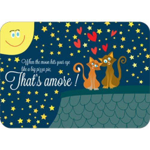 Mum Moves Cards-kleurrijke postkaart mum loves cards-that's amore-7130