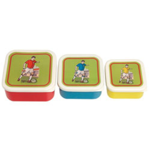Rex-set van 3 snackdoosjes-voetbal-7161