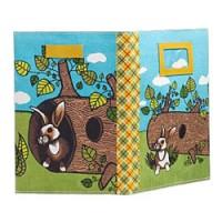 stevige boekenkaft het konijn