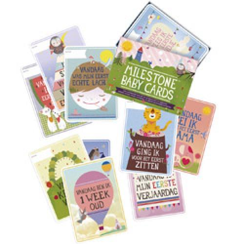 Milestone-milestone baby cards - nederlands-baby kaarten 1ste jaar - nederlandse versie-7472