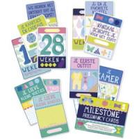 milestone pregnancy cards - nederlands