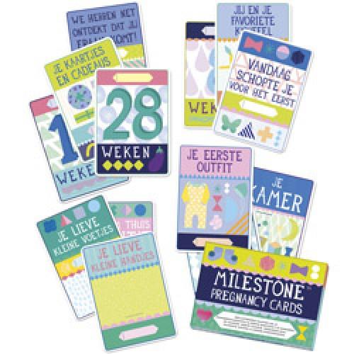 Milestone-milestone pregnancy cards - nederlands-zwangerschapskaarten - nederlandse versie-7473