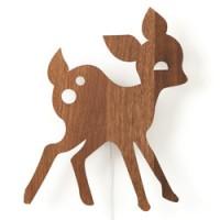 houten wandverlichting my deer