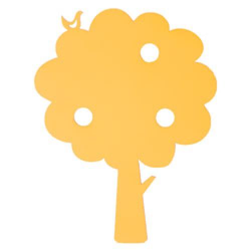 Ferm Living-houten wandverlichting tree-boom geel-7566