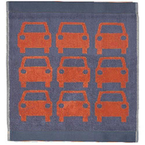 Orla Kiely-gastendoekje kids car-kids car red-7612