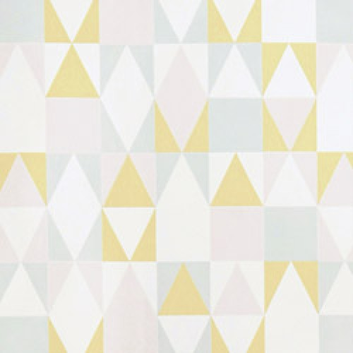Majvillan-origineel zweeds behangpapier-alice roze geel grijs-7791