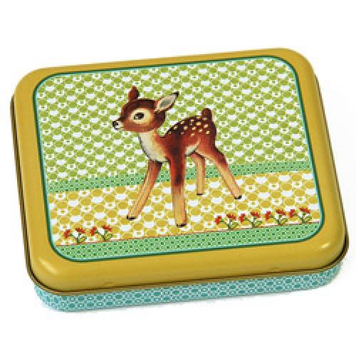 froy en dind petite bo te en m tal r tro bambi vintage prod7836 fr. Black Bedroom Furniture Sets. Home Design Ideas