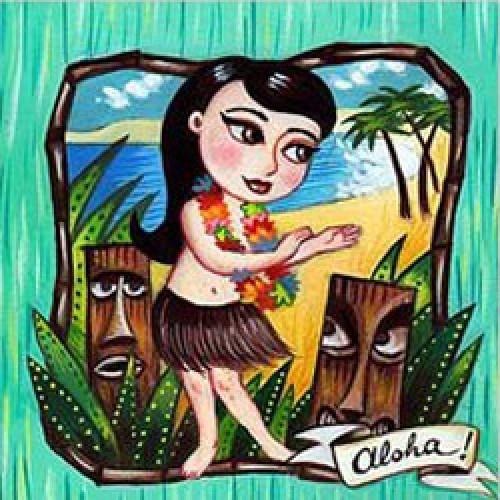 La Marelle Editions-postkaart la marelle-aloha-7882
