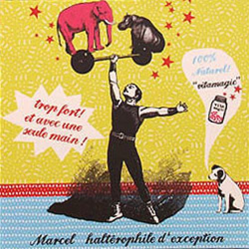 La Marelle Editions-postkaart la marelle-marcel-7884