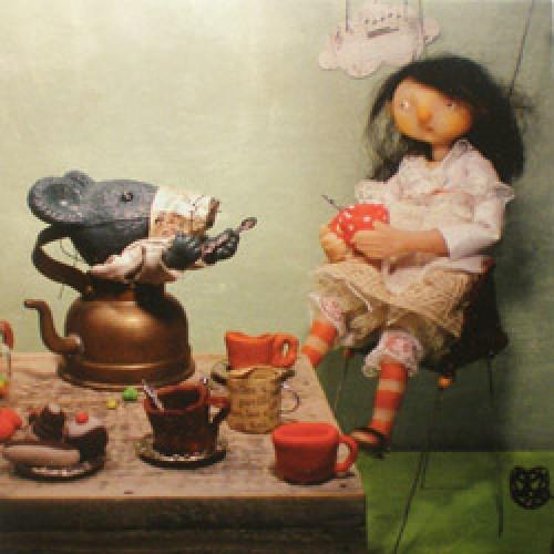 La Marelle Editions-postkaart la marelle-alice et le loir-7886