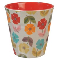 beker poppy in melamine