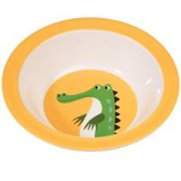bowl krokodil in melamine