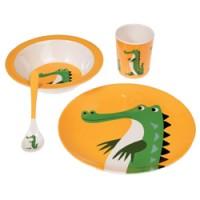 geschenkset krokodil in melamine