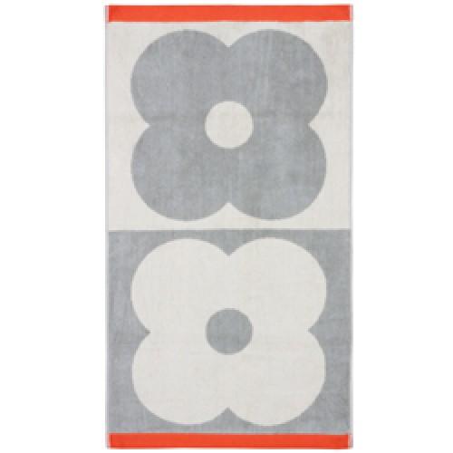 Orla Kiely-badlaken spot flower-flower spot domino light granite-9016