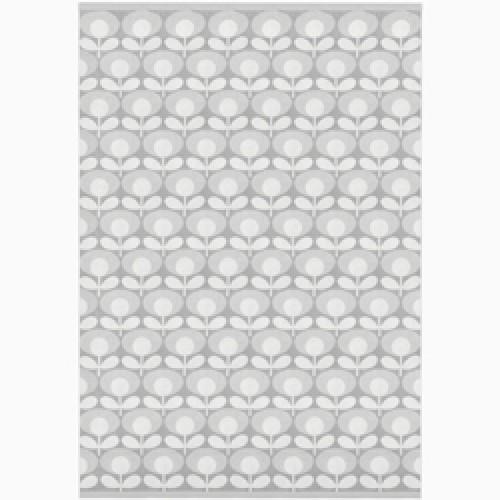 Orla Kiely-badlaken speckled flower-speckled flower light granite-9019