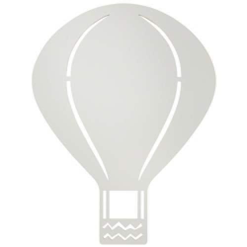 Ferm Living-houten wandverlichting air balloon-luchtballon grijs-9027