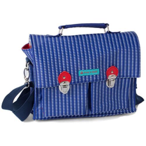 Froy en Dind-hippe kleuter - of handtas - mini model-NN2 milano blue-9039