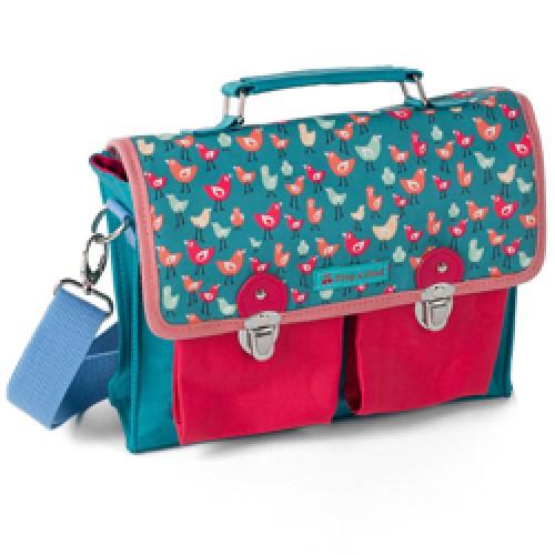 Froy en Dind-hippe kleuter - of handtas - mini model-SS1 birds pink-9040