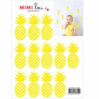 mini muursticker ananas
