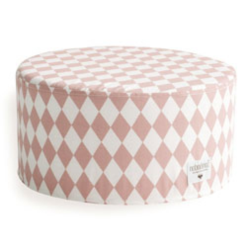 Nobodinoz-kleine soho poef-diamand roze small-9378
