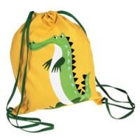 mooie plunjezak krokodil