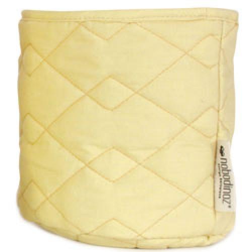 Nobodinoz-mooi gequilt opbergmandje samba small-sunny yellow small-9490