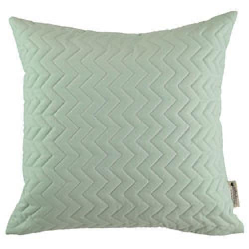 Nobodinoz-vierkant gequilt kussen cadaques 45 x 45 cm-provence green-9546