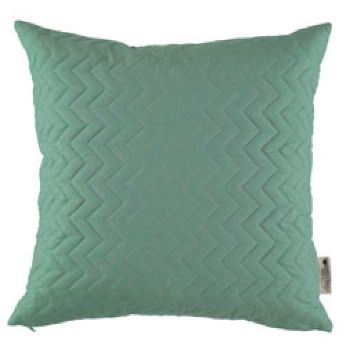 Nobodinoz-vierkant gequilt kussen cadaques 45 x 45 cm-siesta green-9547
