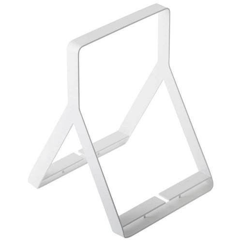 Yamazaki-minimalistische metalen tijdschriftenhouder-wit-9571