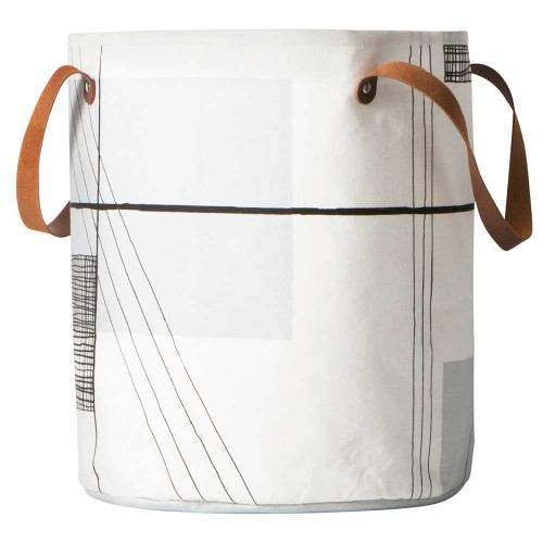 Ferm Living-ronde opbergmand trace-trace-9601