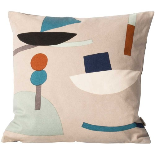Ferm Living-speels kussen 40 x 40 - seaside-seaside boat-9605