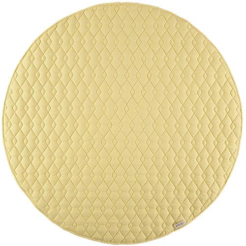 Nobodinoz-rond speelkleed kiowa SMALL-sunny yellow small-9734