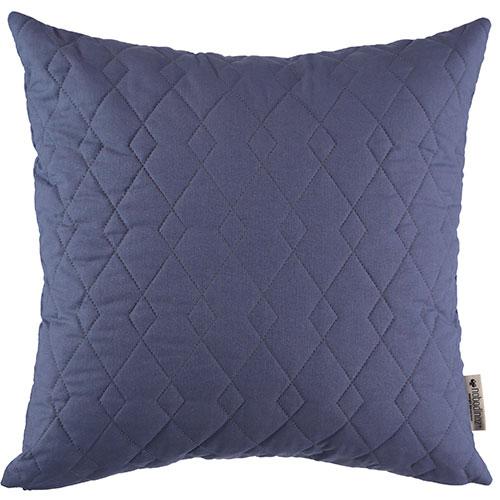 Nobodinoz-vierkant gequilt kussen cadaques 45 x 45 cm-aegean blue-9737