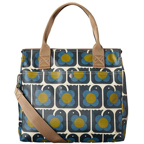 Orla Kiely-stijlvolle handtas love birds-love birds navy-9823
