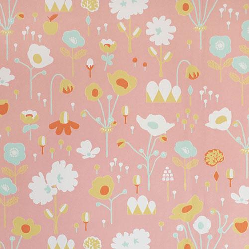 Majvillan-origineel zweeds behangpapier-bloom pink-9882