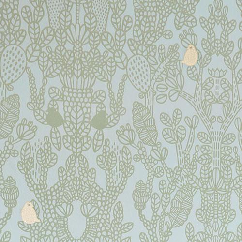 Majvillan-origineel zweeds behangpapier-amelie green-9894