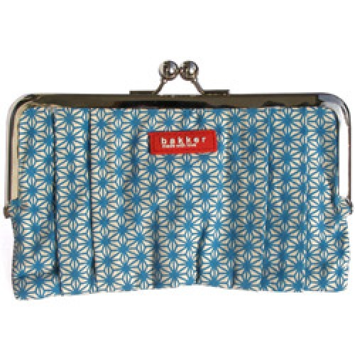 a0ea37c4a1a ... Bakker Made With Love-hippe retro portemonnee met knipsluiting-X  turquoise-3751 ...