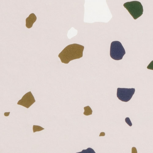 Ferm Living Danish Wallpaper Terrazzo Terrazzo Rose Prod9839 En