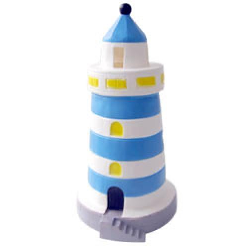 Heico-figuurlamp vuurtoren-vuurtoren klein blauw-8329