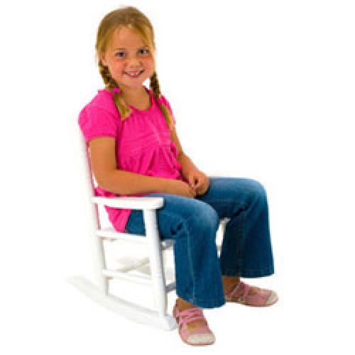 Kinder Schommelstoel Wit.Present Time Houten Kinder Schommelstoel Wit Prod102 Nl